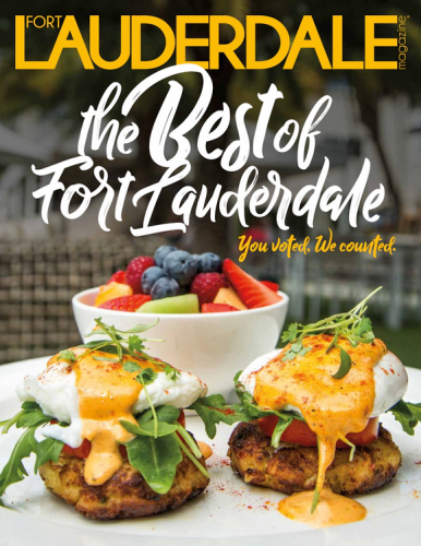 Fort Lauderdale Magazine Cover - Best of Fort Lauderdale